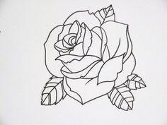 outline rose flickr na tatuaże artykuł