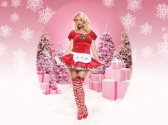 Chicas Navidad Fotos