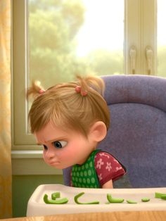 Which Food Riley Hates In 'Inside Out' Depends On Whether You Saw It In The U.S. Or Not