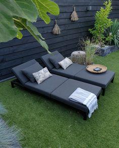 Outdoor Sectional, Sectional Sofa, Garden Inspiration, Garden Ideas, Outdoor Furniture, Outdoor Decor, Sunroom, Sun Lounger, Outdoor Living