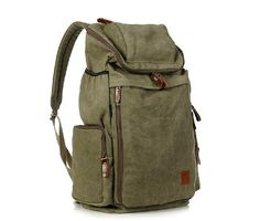 Green  Max Big Bag Leisure men's and women's Camera Backpack School Bag Shoulder Bag IPAD Laptop Backpack Travel  Mountain climbing package on Etsy, $38.00