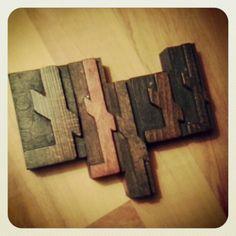 #letterpress #typography #brzydko #vintage #wood #retro #type #letters
