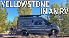 In this post, I share our five day Yellowstone RV trip itinerary including places to visit, where to camp and tips for planning your RV road trip. Yellowstone National Park, National Parks, Camper Van Life, Class B Rv, Rv Parks And Campgrounds, Camping Spots, Ford Transit, Rv Travel, Road Trip