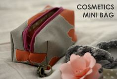 Mini Cosmetics Bag