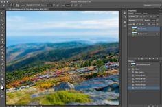 Finished Tilt-Shift Image CS6