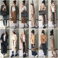 Spring Outfits Japan, Japan Outfits, Fall Outfits, Korea Fashion, Japan Fashion, Girl Fashion, Fashion Outfits, Womens Fashion, Korean Outfit Street Styles