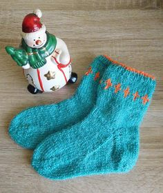 Hand knit kids socks warm knitted socks gift for a by IndigoUA
