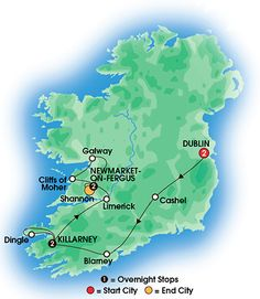 Best of Ireland South 7 Day Tour A