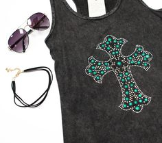 Cross Stone Tank Top