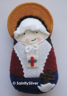 Blessed Anna Maria Taigi Felt Saint Softie
