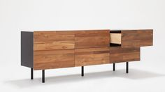 Reclaimed Teak Low Dresser | EQ3 Modern Furniture