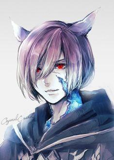 Final Fantasy Artwork, Final Fantasy Xiv, Fantasy Series, Character Inspiration, Character Art, Character Design, Video Game Art, Cool Cartoons, Awesome Anime