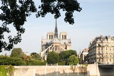 Notre Dame taken from Ile St Louis