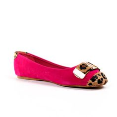 Buckle Flat in Pink.♥