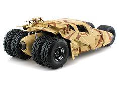 Hot Wheels 1/18 Scale The Dark Knight Rises Batmobile Tumbler Camouflage Diecast Car Model BCJ76 - Diecast Auto World