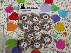 Custom Badges, Custom Buttons, Hen Party Badges, Rainbow Badge, Badge Maker, School Badges, Birthday Badge, Badge Design, Button Badge