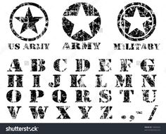 stock-vector-vector-military-vintage-font-13636522.jpg (1500×1216)