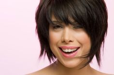 Short Choppy Layers with Bangs - Short hairstyles