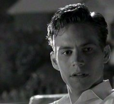 Paul Walker as Skip Martin in the 1998 film Pleasantville. Saw him in this movie, and fell in love :)