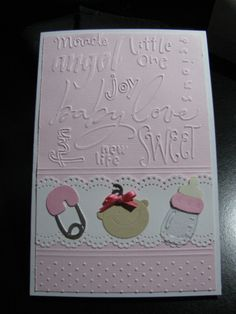 cuttlebug embossing folders, border punch, sizzix dies