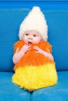 Baby Candy Corn. This could be a possible costume!(: adorable.
