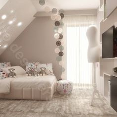pokój dla dziewczynki - Google Search Dream Bedroom, Girls Bedroom, Girl Room, Sweet Home, House Design, Interior Design, Google Search, Inspiration, Bedrooms