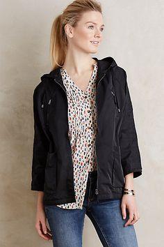 Hooded Uptown Rain Jacket #anthropologie