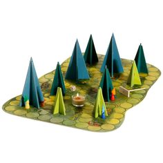 Shadows in the Forest is an incredibly unique board game, using the power of light and dark to create a tabletop adventure unlike any other! The board game is an ancient forest with tall, looming tree