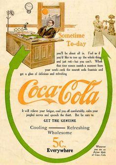 Vintage Coca Cola Ads (15 pics)