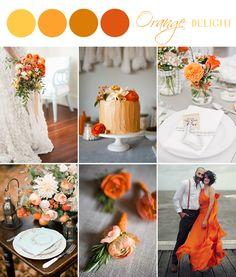 Color Palette - Orange Delight