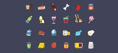 Free Set Colorful Ficons Icons 42