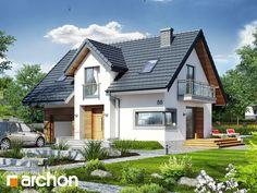 Будинок в портулаках ver.3 | archon.com.ua Cabin, Mansions, House Styles, Home Decor, Decoration Home, Manor Houses, Room Decor, Cabins, Villas