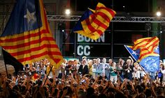 27.09.2015. #eleccionescatalanas With a majority of the votes counted, the pro-independence parties are on course to win a majority in local elections described as a quasi-referendum on independence