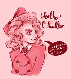 Heather Chandler from Heathers: the musical, which I'm a tad obsessed with at the moment haha #heathersthemusical #musicals #heatherchandler #art #sketch #digitalart
