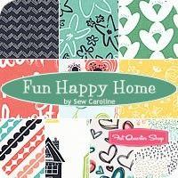 Fun Happy Home Fat Quarter BundleSew Caroline for Art Gallery Fabrics