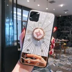 Type:Fitted CaseRetail Package:NoDesign:GlitterCompatible Brand:Apple iPhonesFunction:Dirt-resistant For Iphone 11 Case Luxury Diamond With Ring Stand Gold protective back cover case for iphone 11 Pro Max
