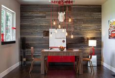 Rustic Dining Room Wall Ideas