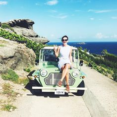 Morning adventures in the Moke  // #lebarthelemy  taking over the @cntraveler insta stories  snapchat today!