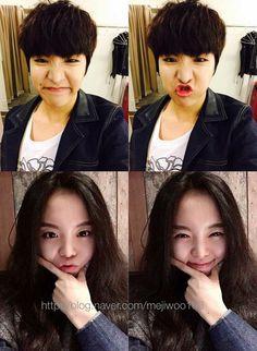 Jhope n his sister are so cute