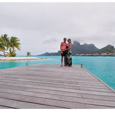 Throwback to this moment a few years ago in Bora Bora Tahiti.  I still think this is one of the most breathtaking places on the planet. @tag 1 person you'd love to visit here with someday!  #tbt #vilife #livedlist