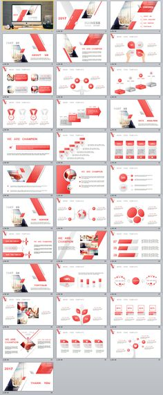 Business Infographic   Business Company Report Powerpoint