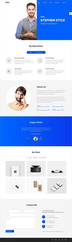 Verka - CV\/Resume HTML Template - bootstrap resume template