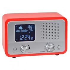 Radio Reveil  Station Meteo Pop Rouge