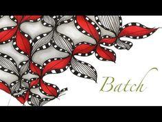 a little lime: Batch Tangle Pattern Video