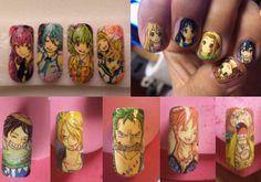 manga nail
