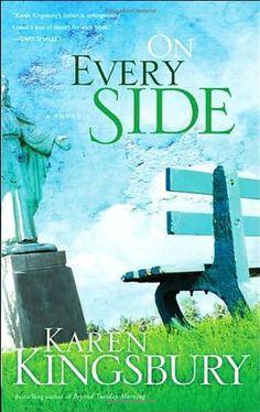 On Every Side by Karen Kingsbury http://www.amazon.com/dp/1590527526/ref=cm_sw_r_pi_dp_Dnejwb0K5HSQC