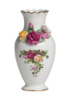ROYAL ALBERT Old Country Roses Rose Bouquet Vase