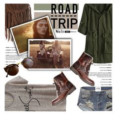 """Road Trip"" by deeyanago ❤ liked on Polyvore featuring Topshop, Abercrombie & Fitch, SHOUROUK, Sheinside and roadtrip"