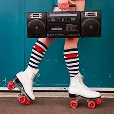 There is nothing that a boom box and skates won't fix!