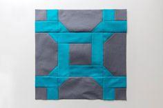 (7) Name: 'Quilting : Celtic Twist patchwork block tutorial